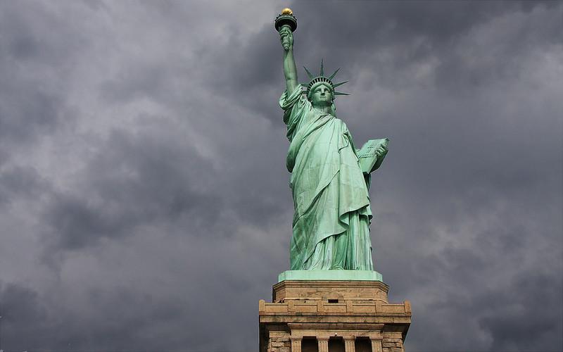 The Statue of Liberty, New York Harbor