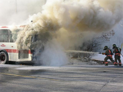 February 4, 2005 - 1st Alarm - Bayview Ave. & Finch Ave. E.
