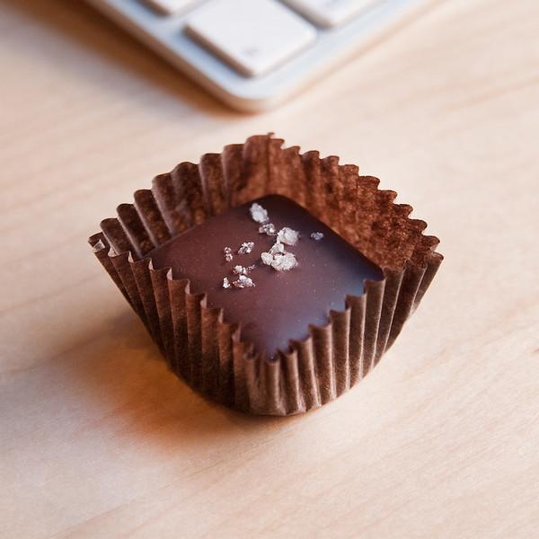 black dinah chocolatiers sea salt caramels