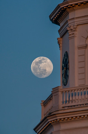 Moonrise Over Charleston