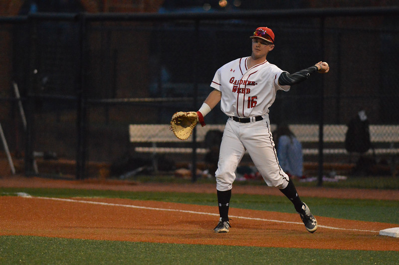 Running' Bulldog Baseball team take on Winthrop in a throw down Friday evening in Boiling Springs.