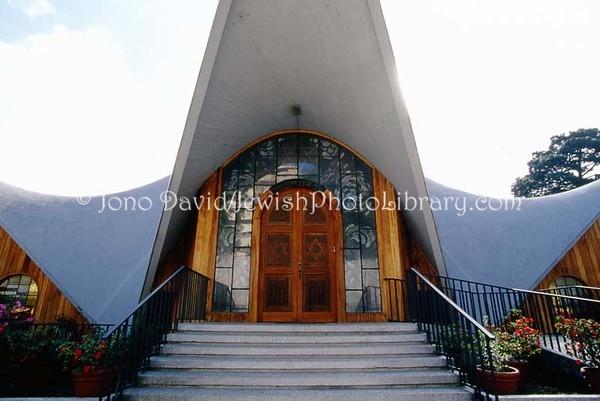 GUATEMALA, Guatemala City. Shaarie Binyamin Synagogue. (2008)