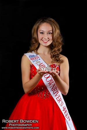 Vanessa Chambe Miss Downriver's Outstanding Teen 2014-15