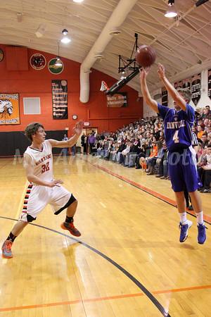 Boys Basketball, Danville vs Van Buren 1/21/2014