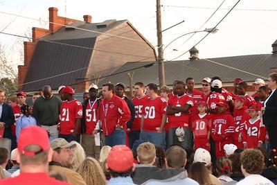 Parade in Hawkinsville
