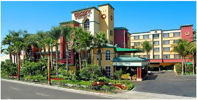 """Peacock Suites"" in Anaheim, California (Disneyland & Universal Studios)- October, 2011"