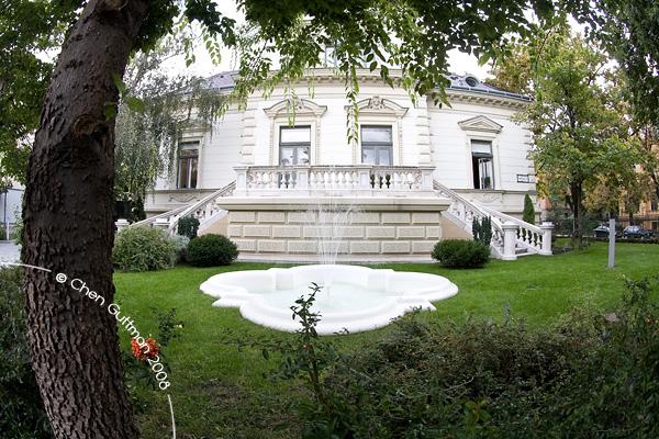 A nice building on Andrassy Utca - many embassies are located on Andrassy Utca.
