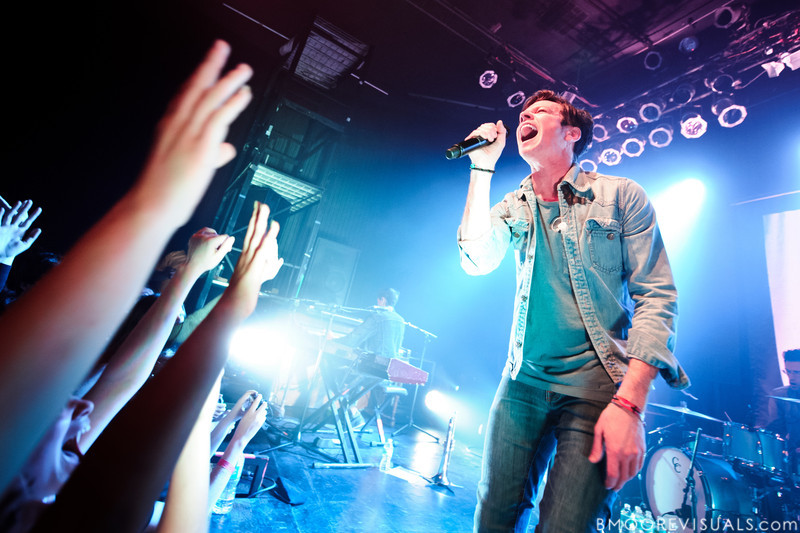 Nate Ruess of fun. performs duing a sold-out show in support of Some Nights on March 7, 2012 at State Theatre in St. Petersburg, Florida