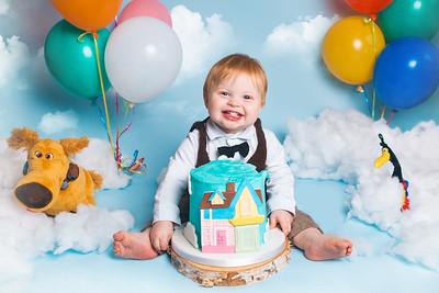 Alexander's Birthday Cake Smash