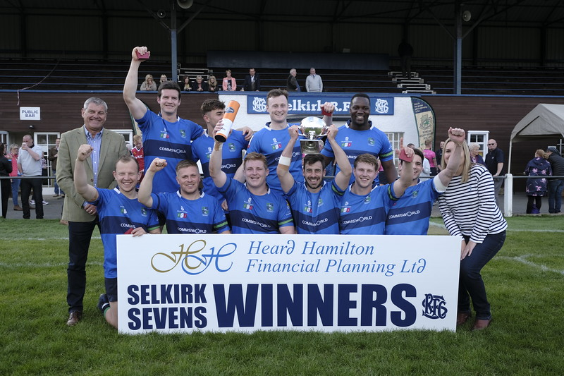 Heard Hamilton Financial Planning Ltd, 100th Selkirk Sevens - Kings of the Sevens Tournament