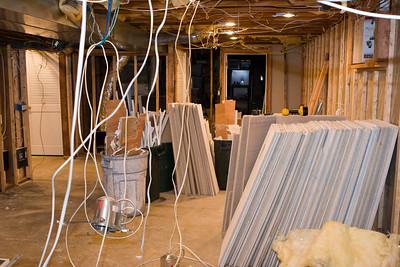 5 Leslie Lane Basement reconstruction