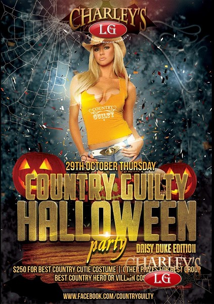 2015-10-29 Country Guilty Halloween Party