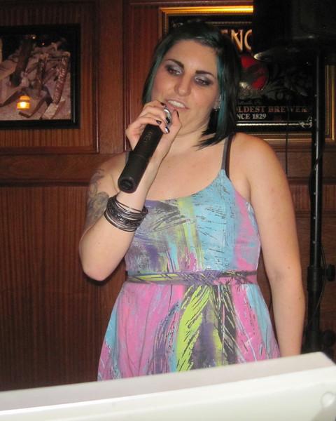 Karaoke at Blacksmith's in Smithtown, NY.