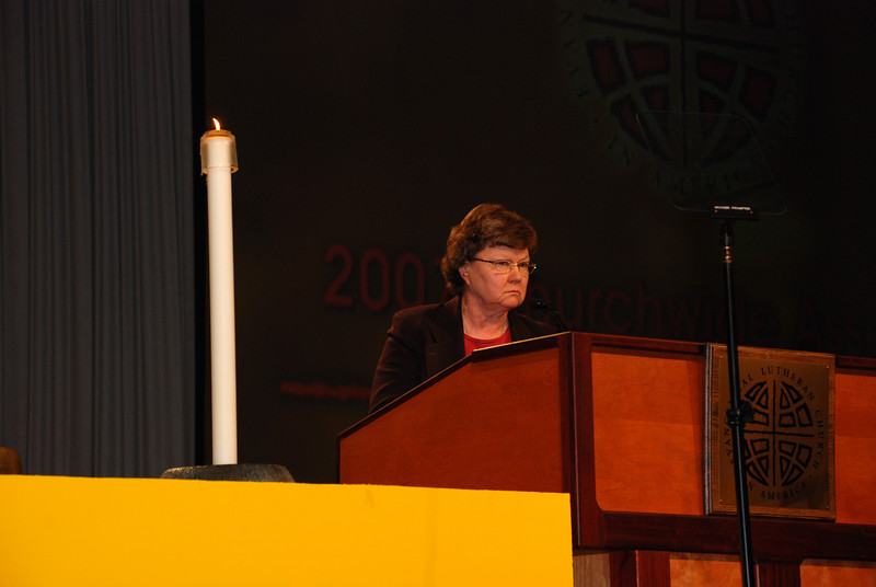 Dr. Norma Hirsh, Co-Chair of the Memorials Committee.