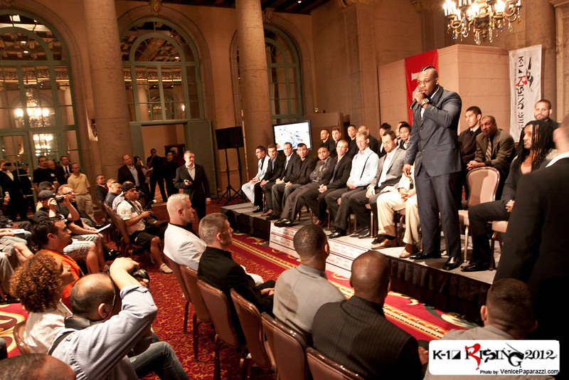 09.06.12. K-1 Rising Press Conference  at the Millennium Biltmore Hotel in Los Angeles