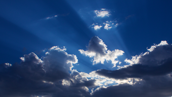 June clouds