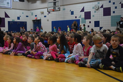Reading Month at Paint Creek Elementary