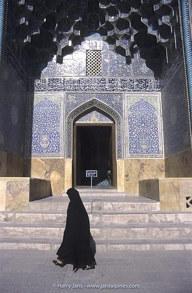 detail Sheikh Lotfollah Mosque in Esfahan