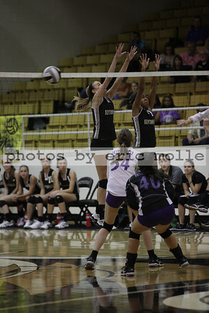 Fayetteville at Bentonville Volleyball - 09/20/2012