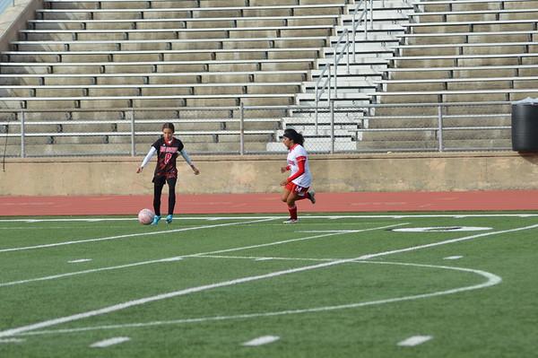 Girls A-Team Soccer vs Vernon 2020