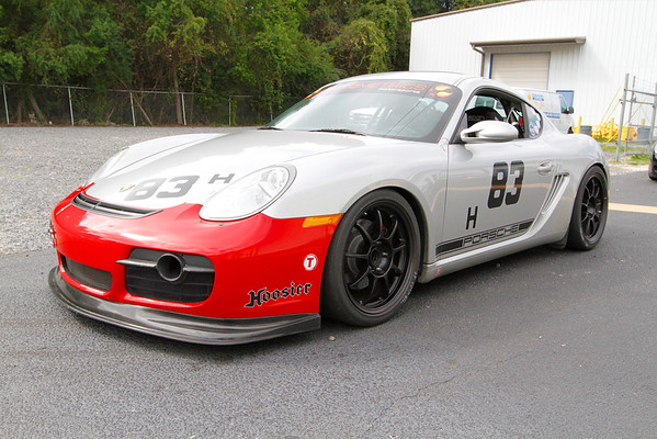SOLD: '06 Porsche Cayman S Race Car