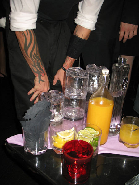 """Download high quality free photographs of Prive Nightclub party with ISVodka in Planet Hollwood. Photo courtesy of ISVodka. Photograph for personal use with credit """"Courtesy of www.ISVodka.com"""""""