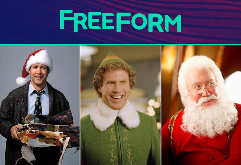Get ready for 25 Days of Christmas returning to Freeform
