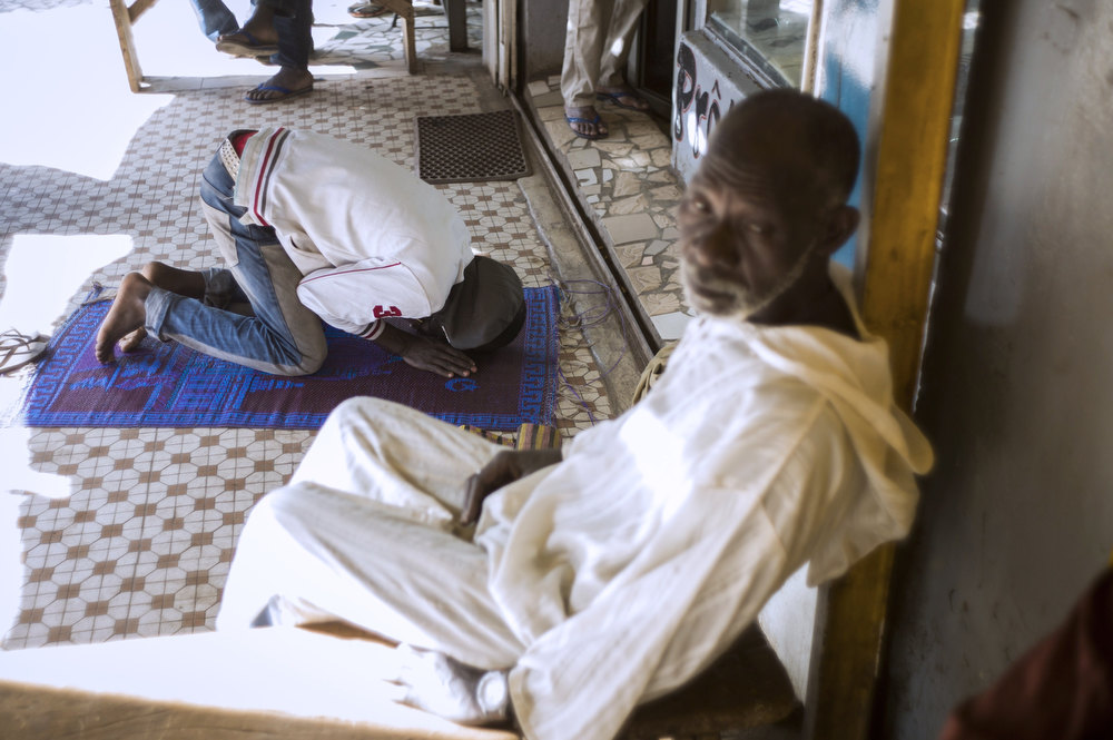 Description of . A Malian Muslim man prays in Bamako, on January 17, 2013. Forty Togolese soldiers arrived in Mali today, the first of those pledged by African nations to back a French-led offensive against Islamist rebels. West African troops have promised more than 3,000 soldiers to back Operation Serval, launched on January 11. FRED DUFOUR/AFP/Getty Images