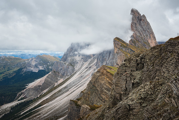 Seceda Ridge