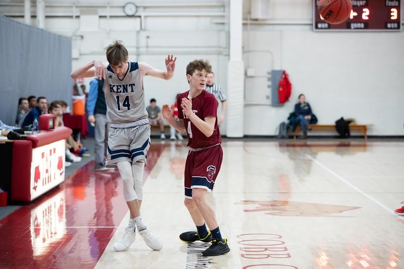Boys Varsity Basketball v Kent