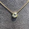 1.02ct Antique Heart Diamond Bezel Pendant 13