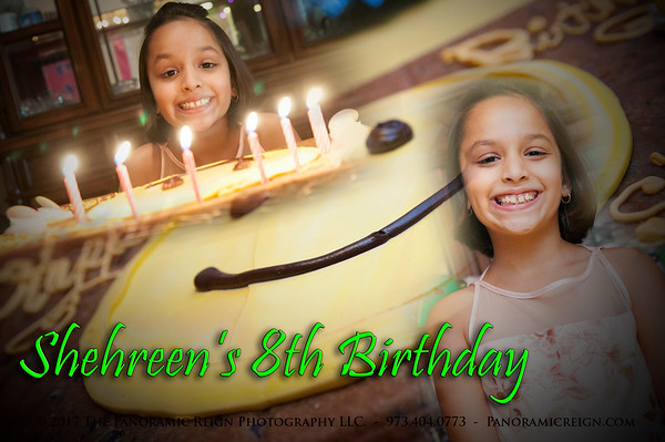 Shehreen's 8th Birthday