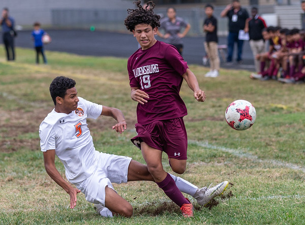 High School Soccer: Bladensburg vs. DuVal