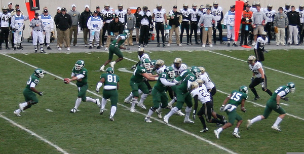 Purdue at MSU football 2006