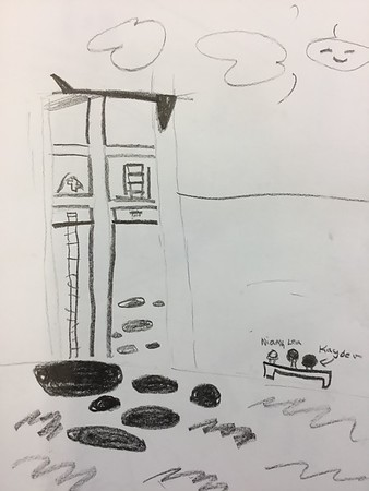 Fourth Grade Architecture Drawing Series