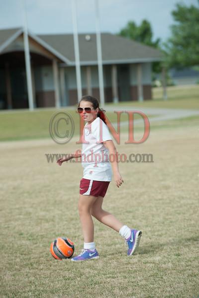 Burlington Soccer Club Game