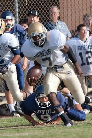 ND Football Freshman Loyola