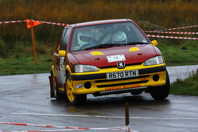 S. M. C. Members at the Cheviot Stages Rally (20th of October 2013)