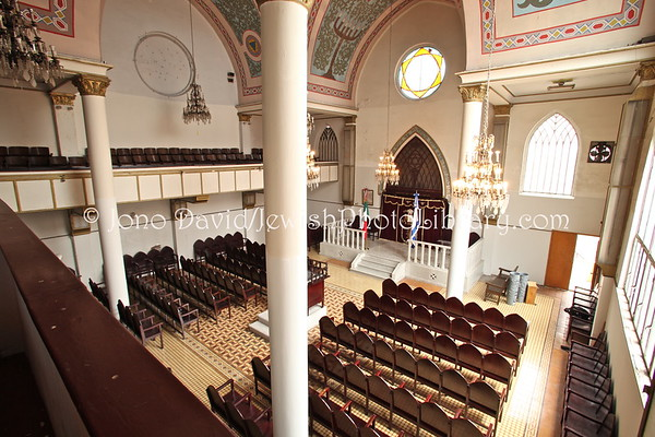 MEXICO, Mexico City. Rodfe Sedek Synagogue. (2009)