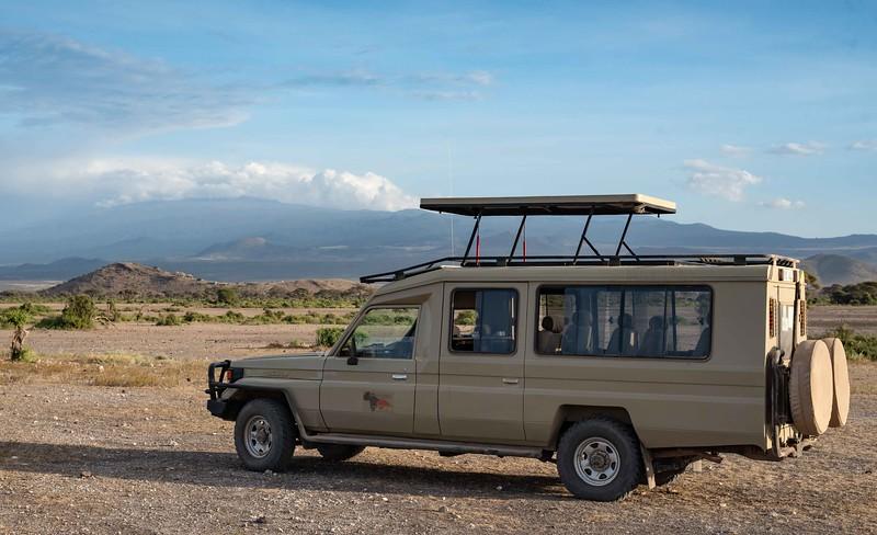 Our safari vehicle (Mt Kilimanjaro)