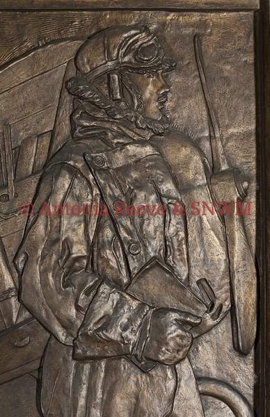 Frieze detail, Left Main Panel