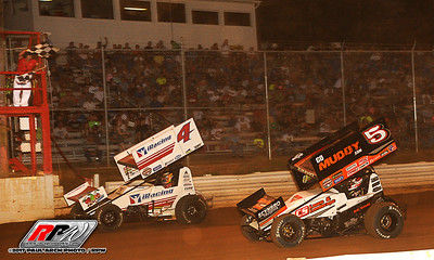 World Of Outlaws @ Lincoln Speedway - 5/17/17 - Paul Arch