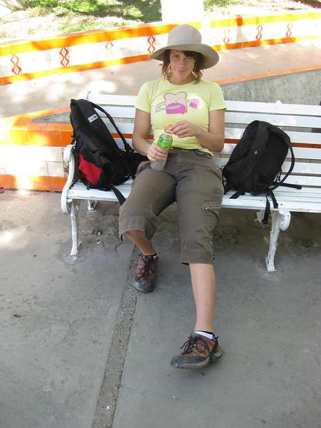Cath relaxing Hidalgo