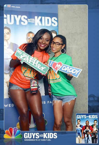 """09.29.2012 Guys with Kids at the Atlanta Football Classic 2012""""Like"""" us at www.facebook.com/omgbooth to TAG + SHARE + DOWNLOAD your photosFrom Emmy®-winner and executive producer Jimmy Fallon comes an absurdly funny new comedy about three thirty-something dads trying to hold on to their youth, while holding onto their new babies' hands. Easy, right? Find out Wednesdays at 8:30/7:30c on NBC!Learn more about Guys with Kids at www.facebook.com/GuyswithKids/"""