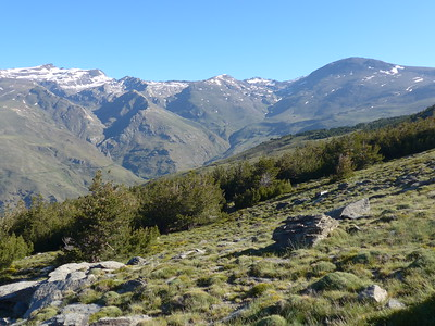 Portillo to Siete Lagunas June 2016