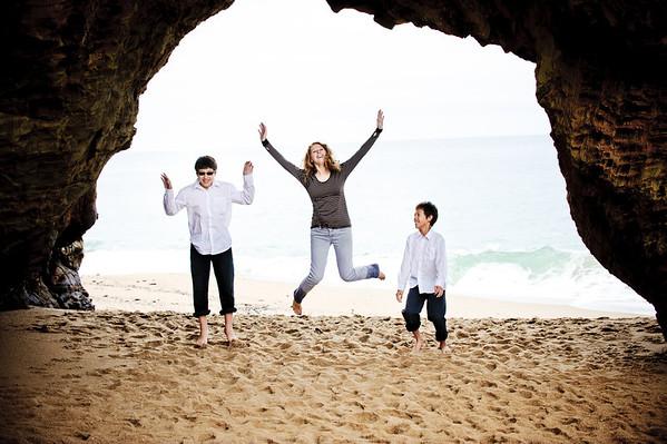 The Hergerts (Family Photography, Panther Beach, Santa Cruz, California)