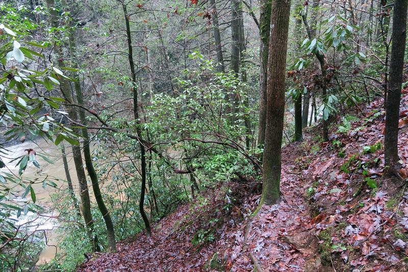 Brasstown Falls 'Goat Path'