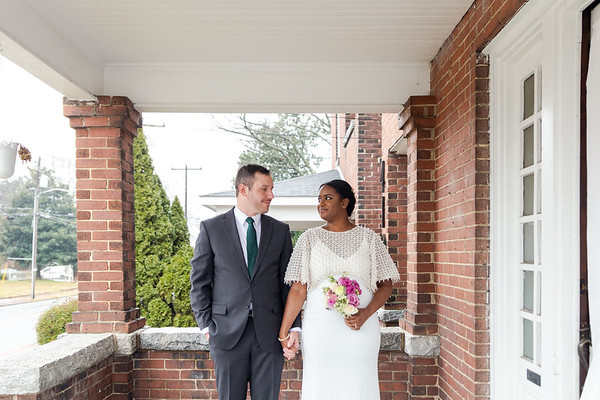 Carmen & Erik | Intimate, DIY Microwedding in Greensboro