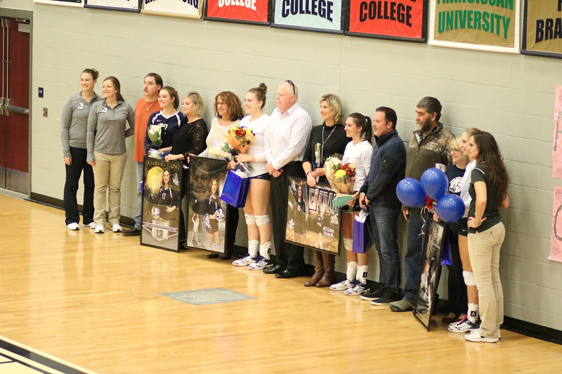 Senior Day at the Mount