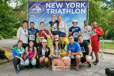 Central Park relay (Bike, run, row boat) and duathlon 10/3/21